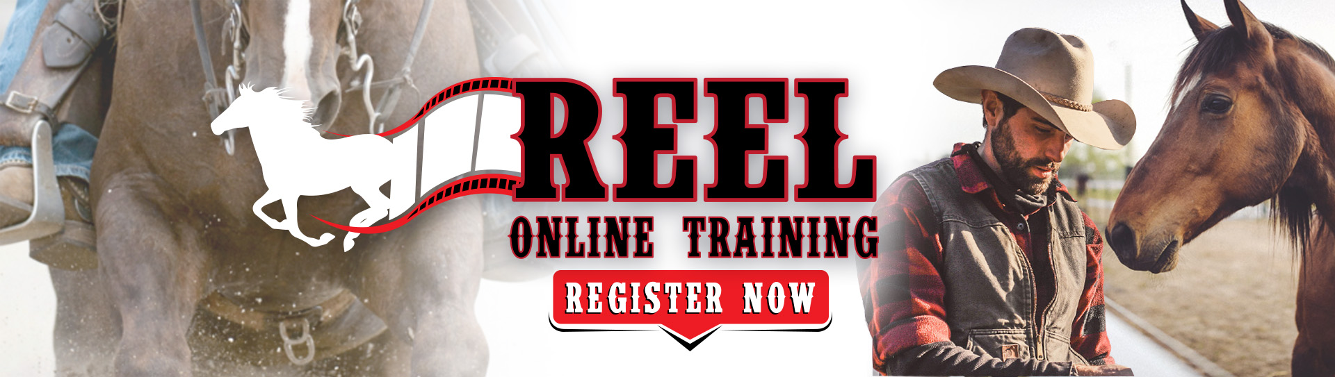 Reel Online Training Registration Banner
