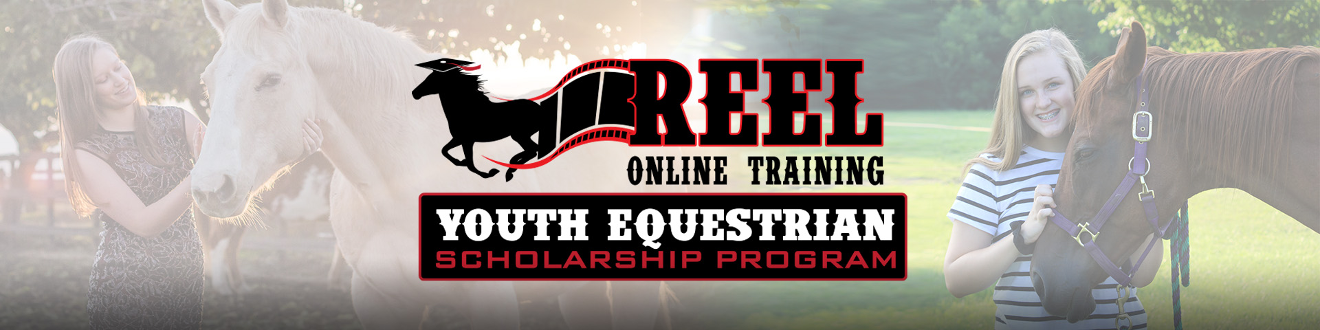 Reel Online Training Youth Scholarship Banner